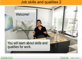 ESL adult resource: Job skills and qualities Interactive Flash Resource 2