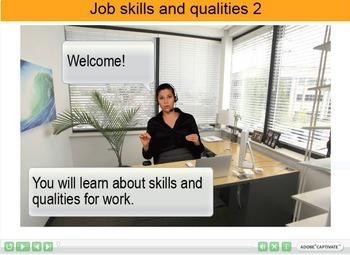 Job skills and qualities Interactive Resource 2