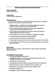 Job/Position Descriptions for all educators/staff in child
