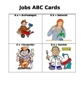 Jobs ABC Card