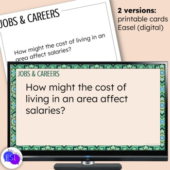 Jobs and Careers Themed Discussion Topics