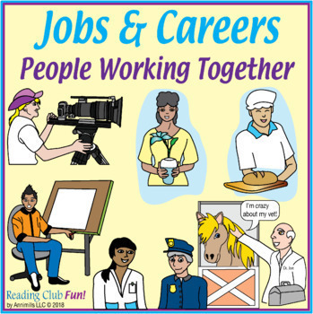 Labor Day - Jobs & Careers: People Working Together (Bundle)