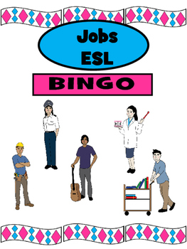 Jobs ESL Bingo – The Professions in English