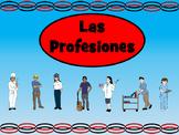 Las Profesiones Vocab Presentation, Games, Worksheets and Activity Book