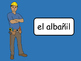 Las Profesiones Vocab Presentation, Games, Worksheets and