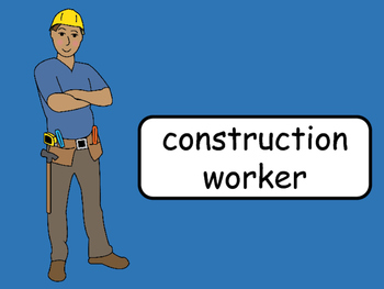 Jobs ESL Vocab Presentation, Games, Worksheets and Reader