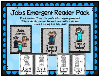 Jobs Emergent Reader Pack - 'See' Practice
