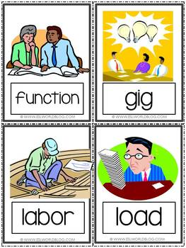 Flashcards Jobs and Employment