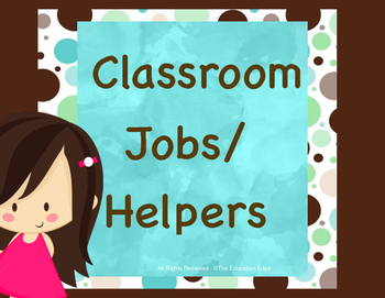 Jobs/ Helpers Aqua Dots