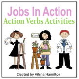 """Jobs In Action"" Action Verbs Activities"