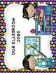 Classroom Jobs Clip Chart - Colorful Polka Dot Theme Decor