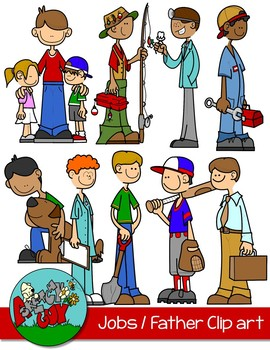 Jobs / Professions / Fathers Day Clipart