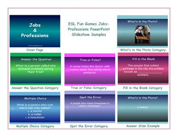 Jobs-Professions PowerPoint Slideshow