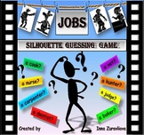 Jobs Silhouettes Guessing Game