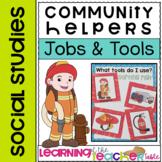 JOBS & TOOLS Community Helpers Matching Games