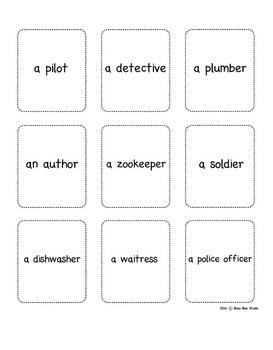 ESL Resources:Jobs - Vocabulary Bingo Game