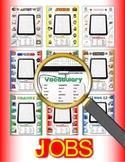 Jobs Vocabulary / Identify Activity Bundle