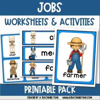 Jobs- Vocabulary Pack