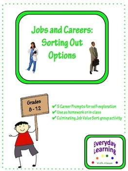 Jobs and Career Counseling Sorting Out Options