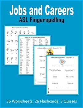 Jobs and Careers (ASL Fingerspelling)