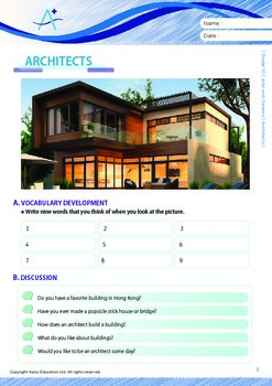 Jobs and Careers - Architects - Grade 10