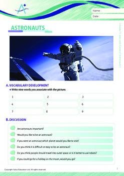 Jobs and Careers - Astronauts - Grade 7