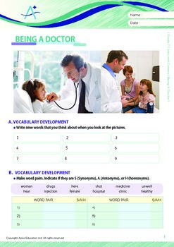 Jobs and Careers - Being A Doctor - Grade 7