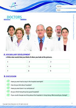 Jobs and Careers - Doctors - Grade 10