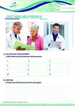 Jobs and Careers - Doctors Help People - Grade 7