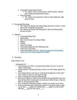 Jobs and Careers Lesson Plan