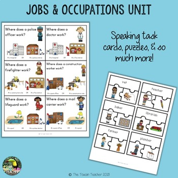 Jobs and Occupations - Community Helpers Unit