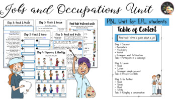 Jobs and Occupations - EFL Worksheets