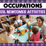 Jobs and Occupations ESL Newcomer Activities