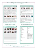 Jobs and Professions Spanish Reading-Conversation-Writing Worksheets