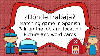 Jobs and location matching in Spanish