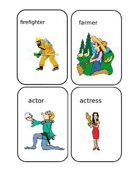 Jobs flashcards