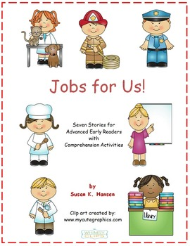 First Grade Reading and Comprehension: Community Helpers theme