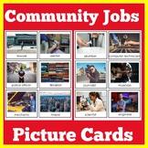 Community | Preschool Kindergarten 1st Grade | Community Jobs Picture Cards