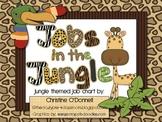Jobs in the Jungle: Jungle theme Job Chart