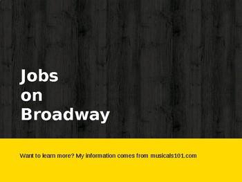 Jobs on Broadway