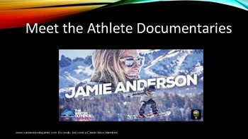 Jobs related to the Winter Olympics- other than being an athlete