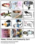 Jobs school home community Economics Labor Day ESL cut and