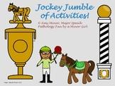 Speech Therapy: Jockey Jumble of Activities