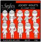 Jockey Kidlets Clipart {A Hughes Design}