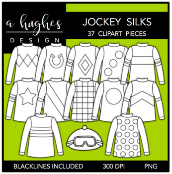 Jockey Silks Clipart {A Hughes Design}