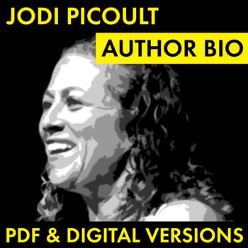 Jodi Picoult Author Study Worksheet, Nineteen Minutes Author Biography, CCSS