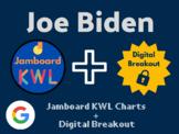 Joe Biden Digital Bundle (Jamboard KWLs, Digital Breakout,