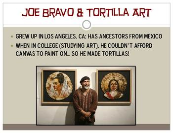 Joe Bravo PowerPoint Contemporary Art