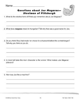 Joe Magarac - Steelman of Pittsburgh