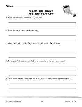 Joe and Bess Call